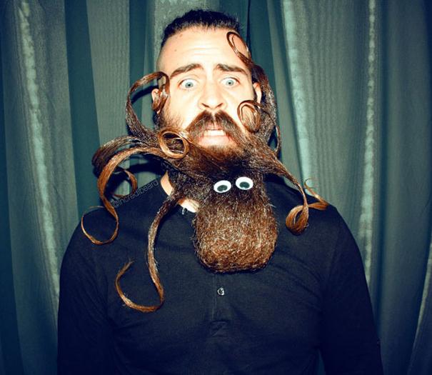 funny beard style
