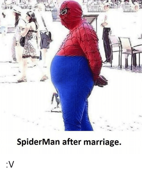 spiderman after marrige